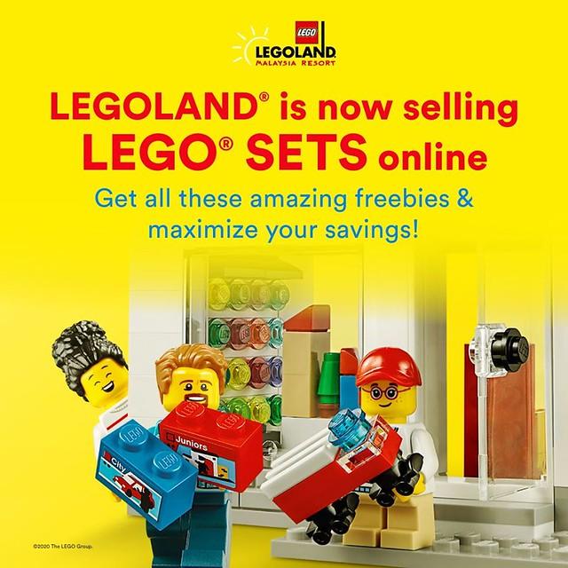 LEGOLAND Malaysia Online Store announcement
