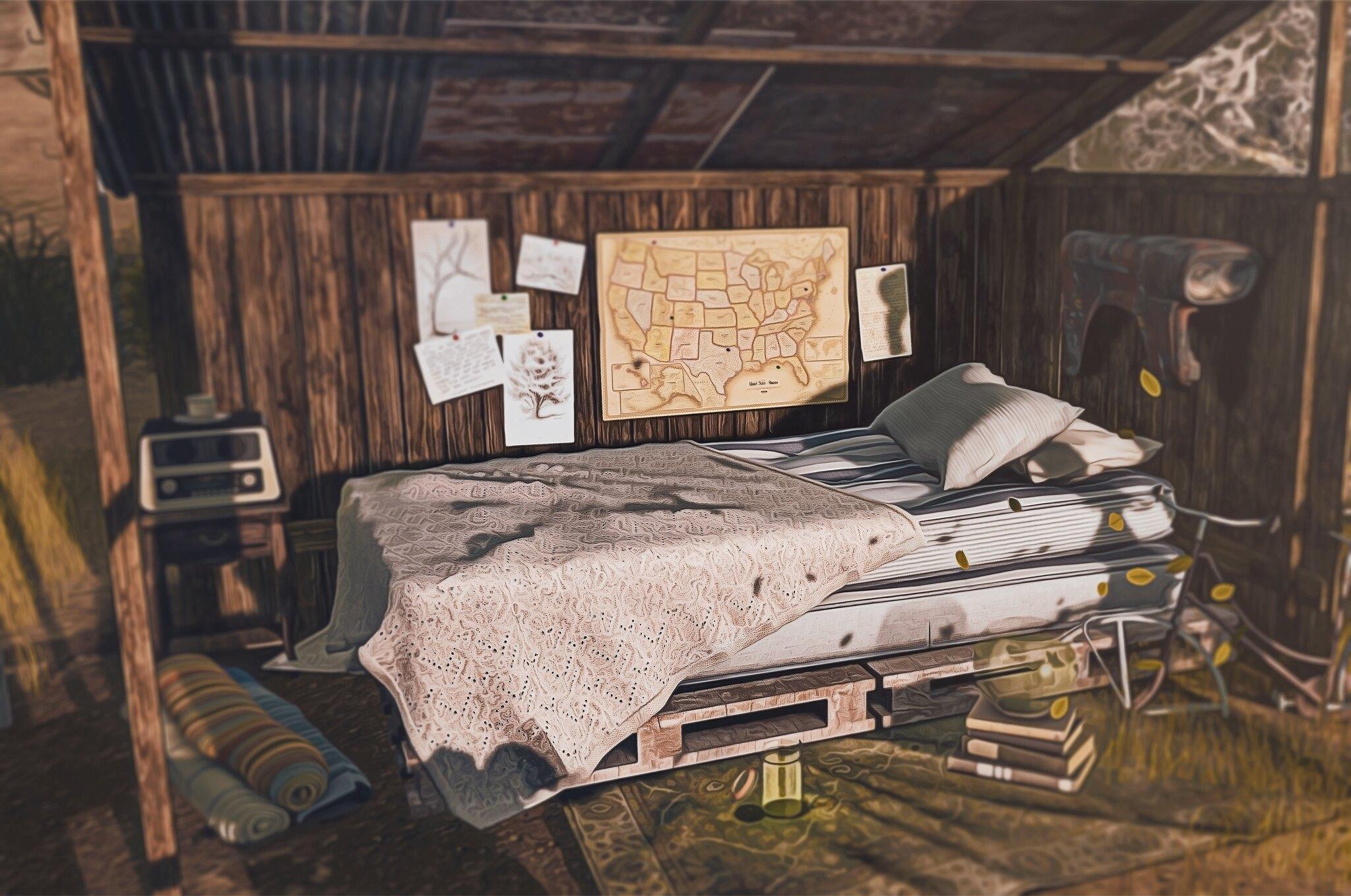 Glamorous Furniture//Old Shed Set
