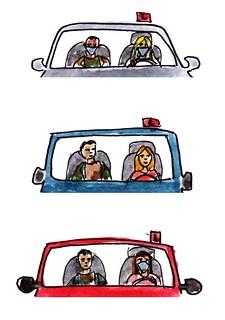 Coronarijles / corona driving lesson