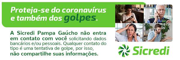 Sicredi Pampa Gaúcho - proteja-se de golpes