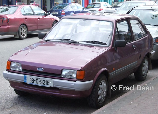 Ford Fiesta (88C9218).