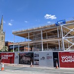 Construction of new Student Centre and New Square as part of the UCLan Masterplan