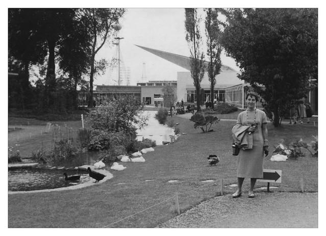 Exposition internationale 1958 de Bruxelles - Belgique - La flèche du génie civil
