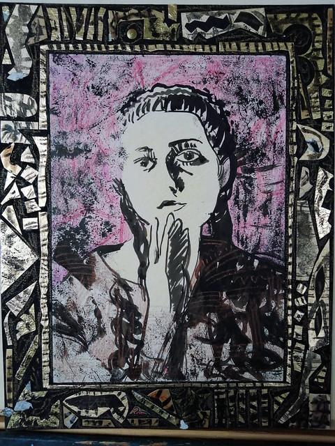 Maria Zaikina, Selfportrait from 1997