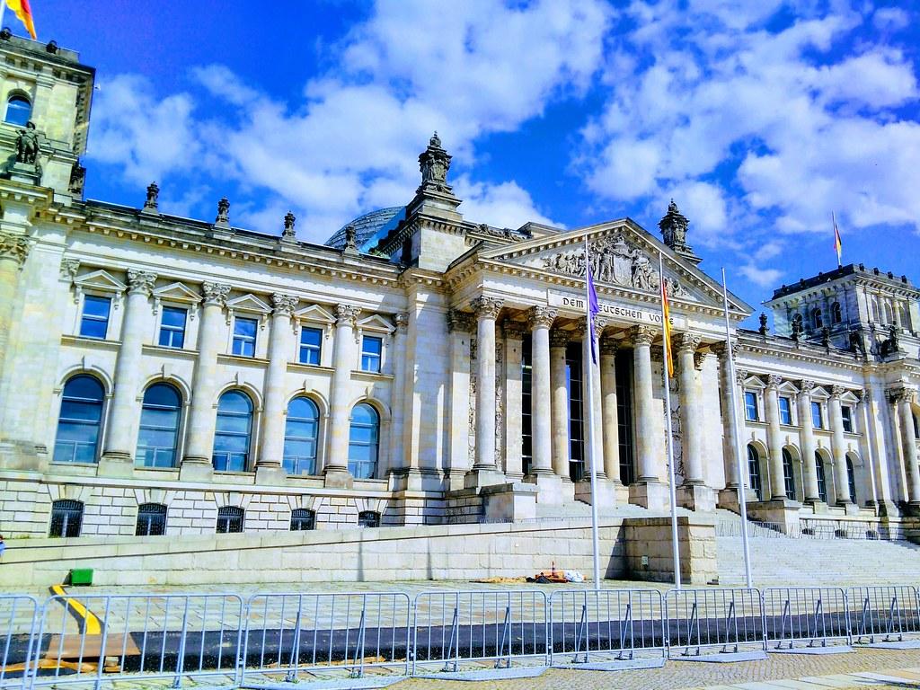 IPReG Proteste vor dem Bundestag