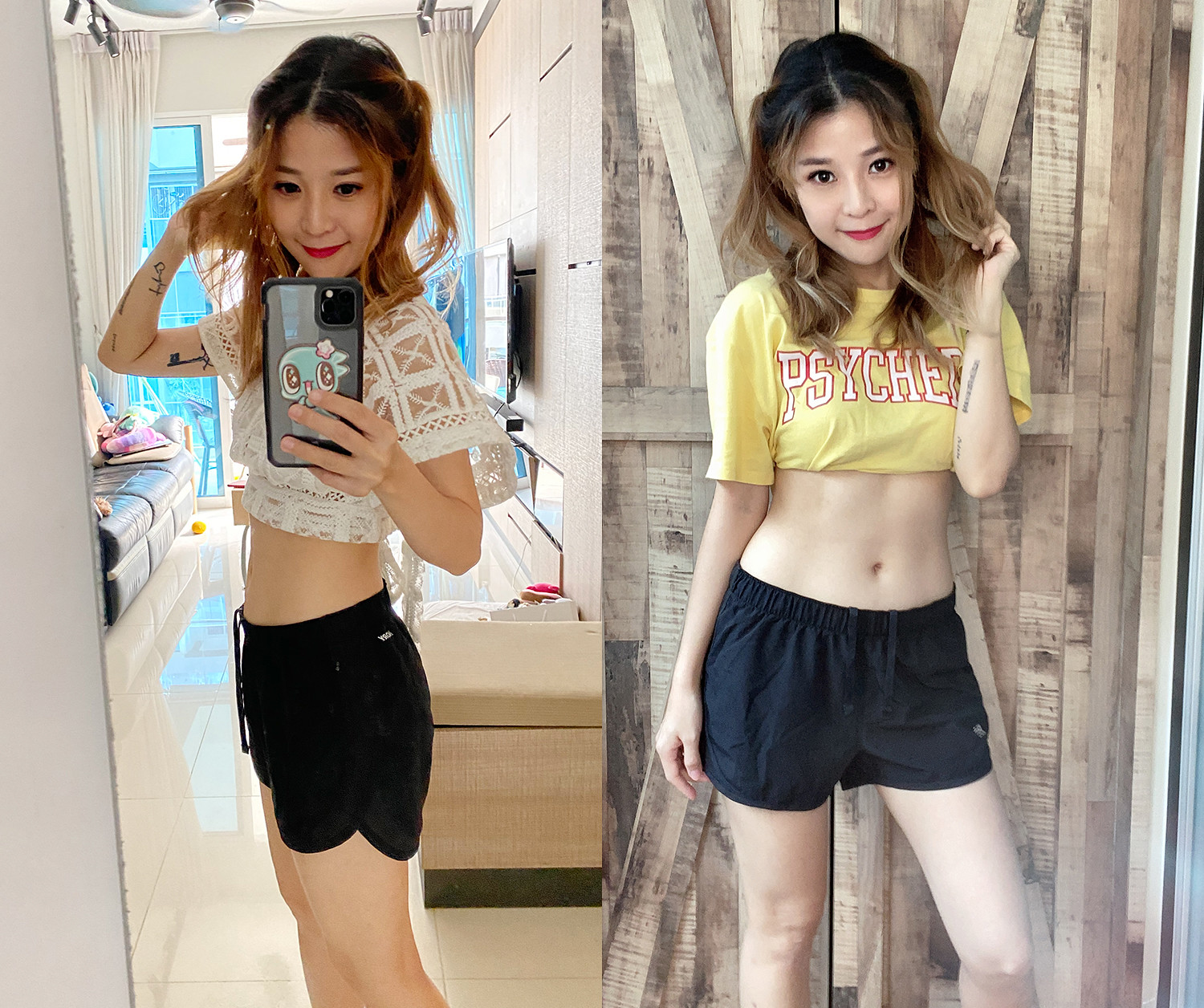 Slimming Journey Stay Home Workout Flat Belly Abs 11 Line 1