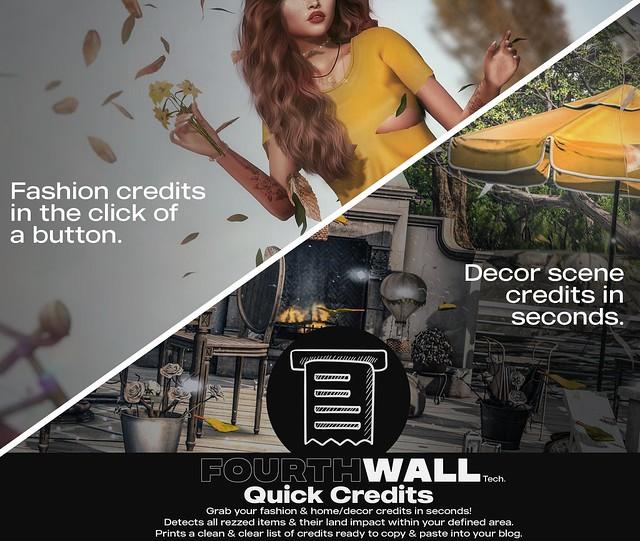 Fourth Wall Tech. / Quick Credits Gadget