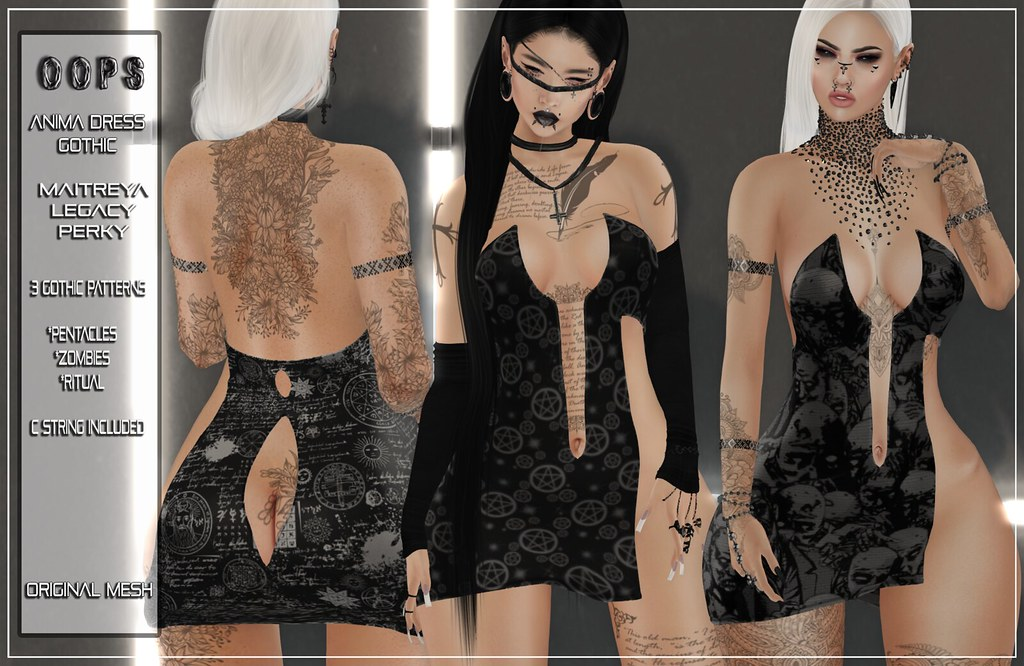 ::OOPS:: Anima Dress – Gothic