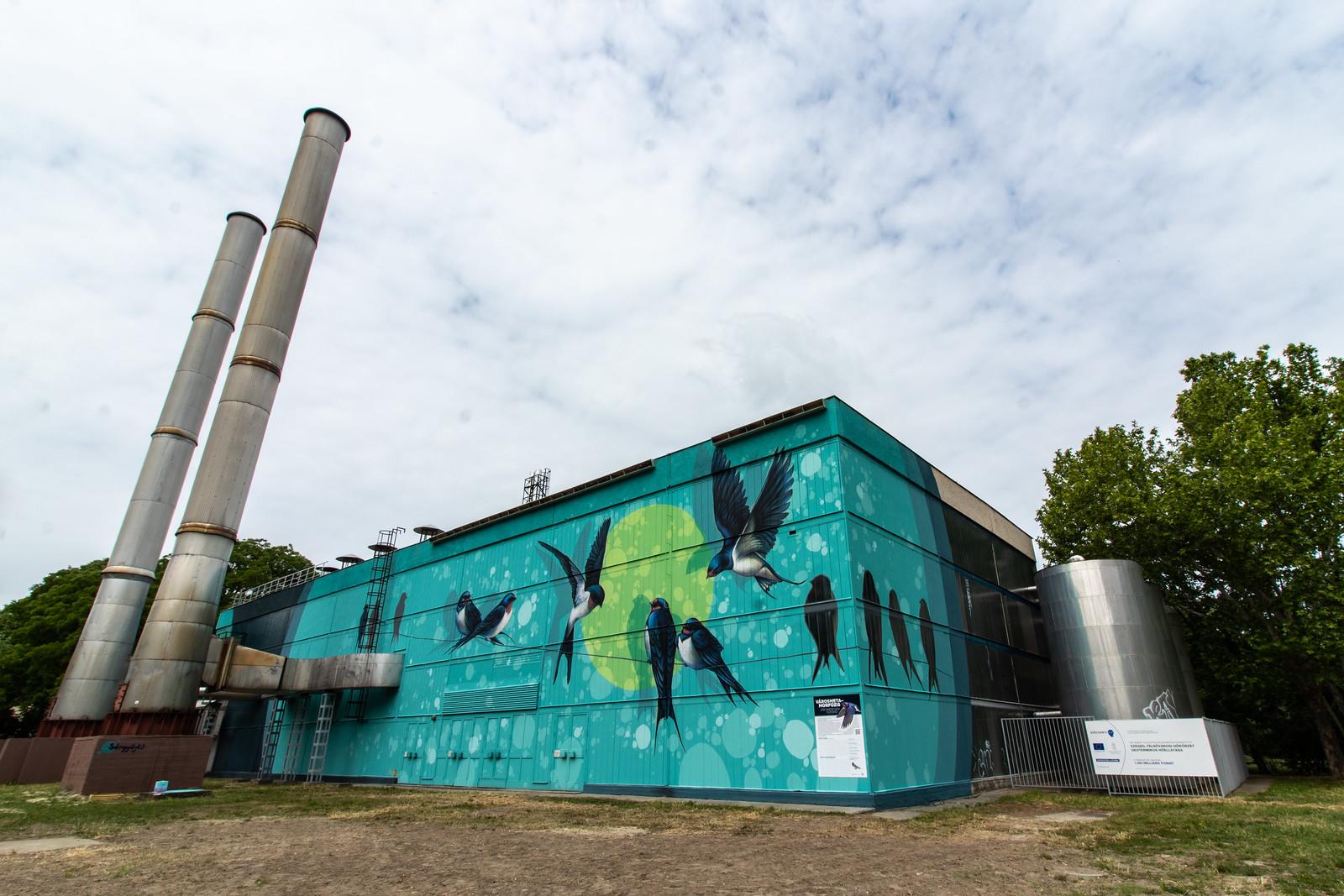 Az Euronews is beszámolt a szegedi fecskés Szetáv fűtőműről