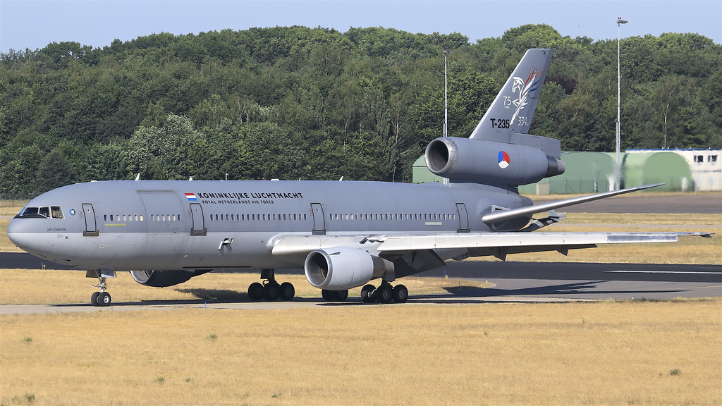 T-235 Royal Netherlands Air Force McDonnell Douglas DC-10-30CF - Eindhoven Airport (EIN / EHEH)