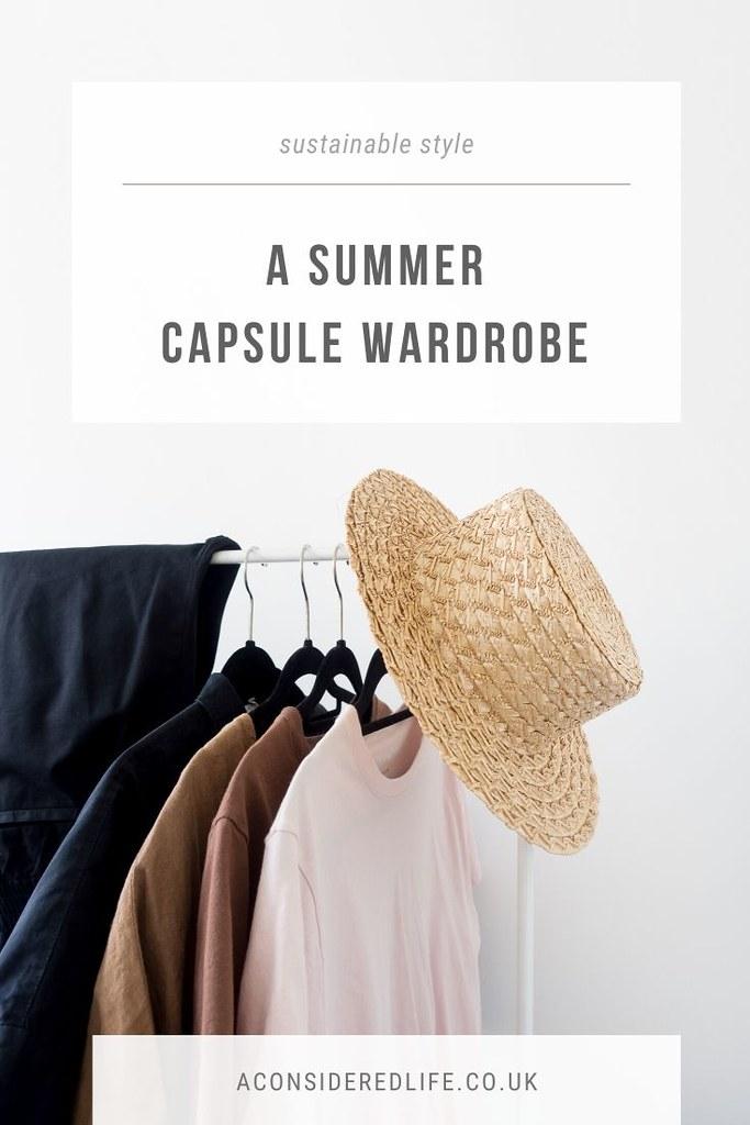 A Summer Capsule Wardrobe