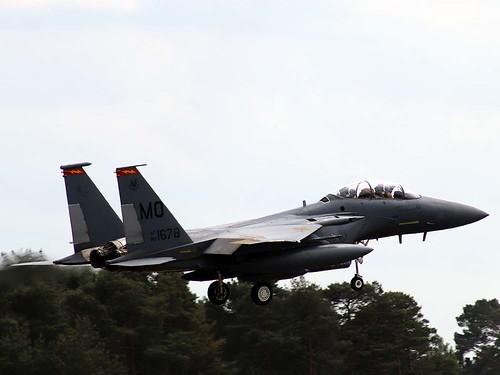 88-1678 MO F-15E Strike Eagle. Lakenheath 27-5-20