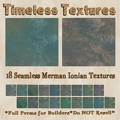TT 18 Seamless Merman Ionian Timeless Textures