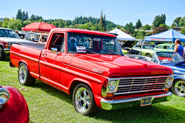 69 Ford F100