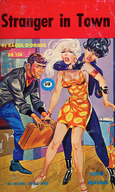Unique Books 126 - Raoul D'Orque - Stranger in Town
