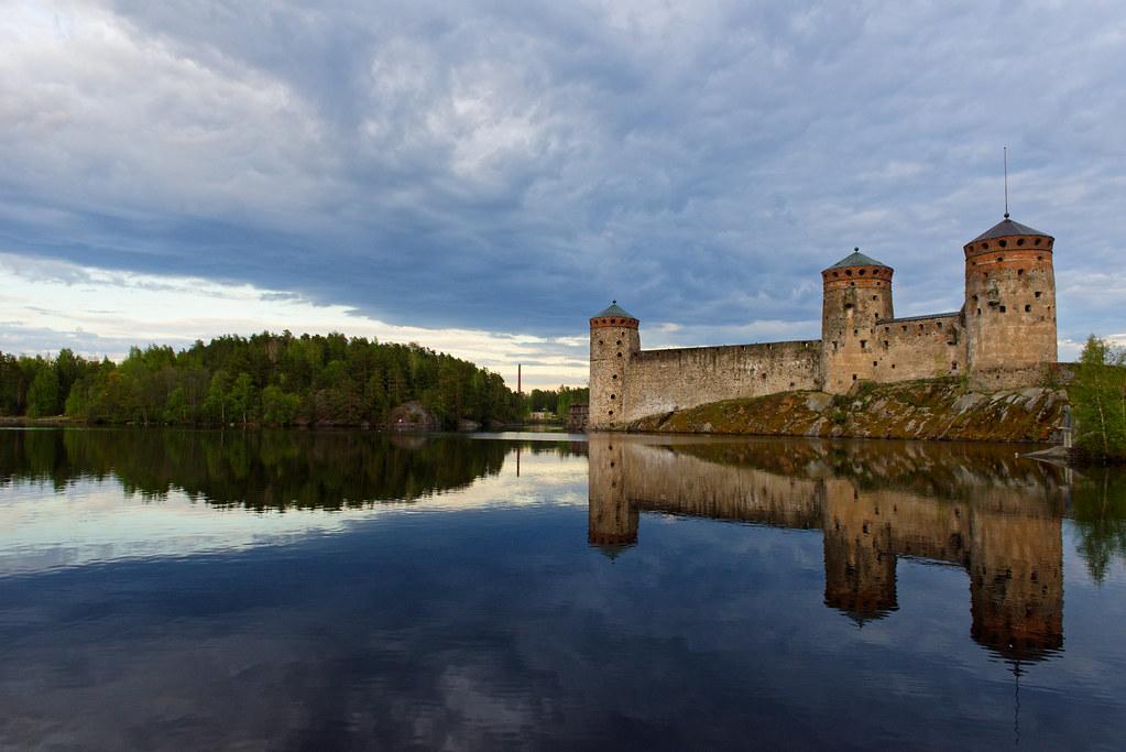 Olavinlinna in Savonlinna Finland