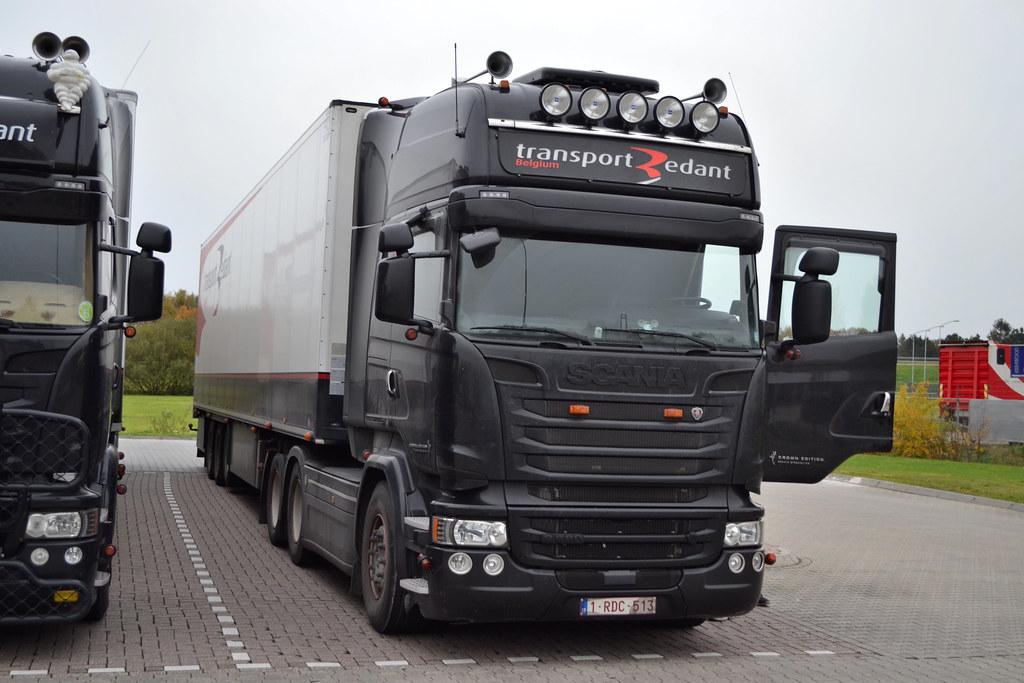 Scania R580 Transport Redant Belgium
