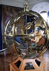 Globe céleste de Gottorp (Sphaera copernicana), 1665, Andreas Bosch, Musée national d'histoire, château de Frederiksborg, Hillerød, Sélande, Danemark