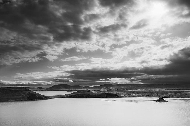 View over the Mývatn