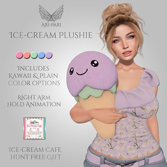[Ari-Pari] Ice-Cream Plushie