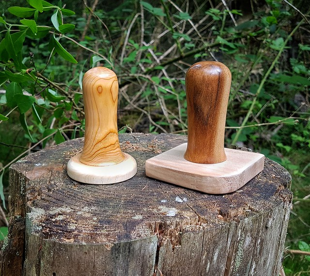 Plant pot compost tampers