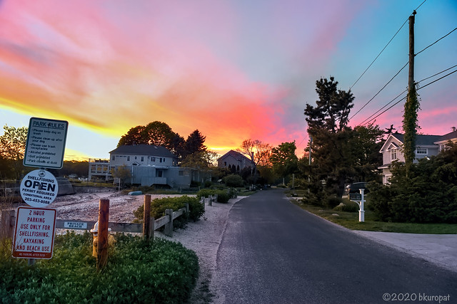 Trolley Rd Sunset