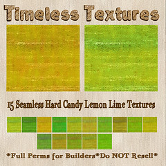 TT 15 Seamless Hard Candy Lemon Lime Timeless Textures