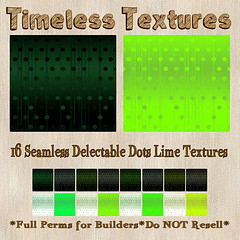 TT 16 Seamless Delectable Dots Lime Timeless Textures
