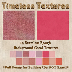 TT 14 Seamless Rough Background Coral Timeless Textures