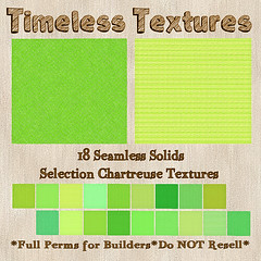 TT 18 Seamless Solids Selection Chartreuse Timeless Textures