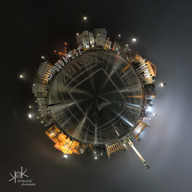 Budapest Mini-planets: Heroes' Square