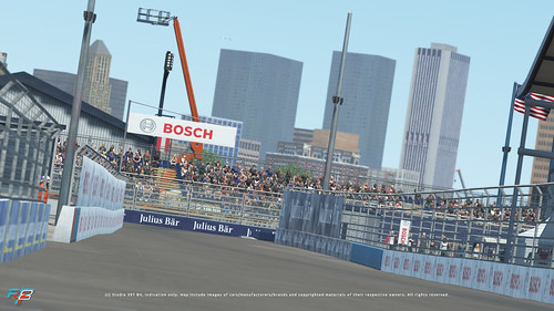 rFactor2 New York E-Prix Circuit