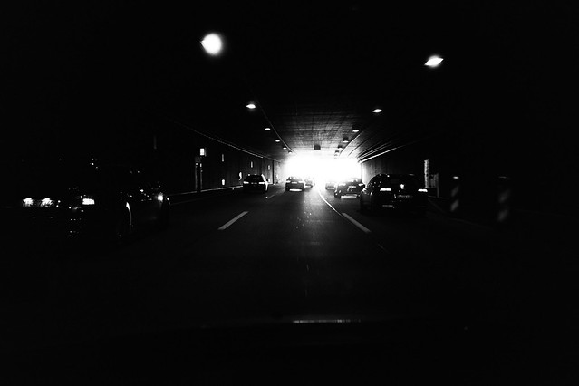 Ride into the light (Ricoh GR1)