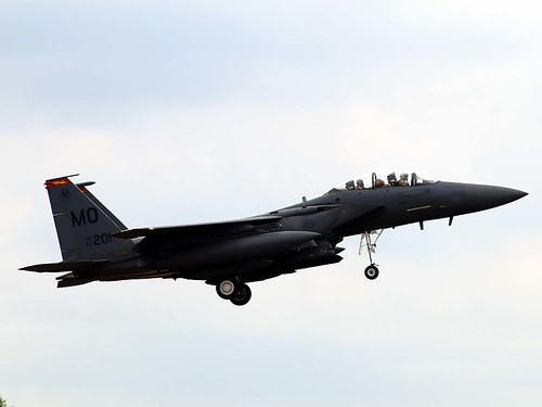 87-0201 MO F-15E Strike Eagle Lakenheath 27-5-20