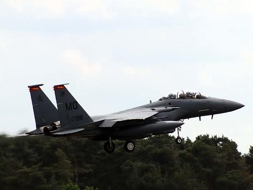 87-0198 MO F-15E Strike Eagle. Lakenheath 27-5-20