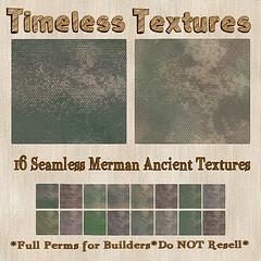 TT 16 Seamless Merman Ancient Timeless Textures