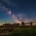 Backyard Milky Way with Jupiter and Saturn Rising