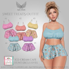 [Ari-Pari] Sweet Treats Outfit