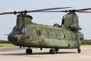 Boeing Vertol CH-47D Chinook D-101 298 Squadron