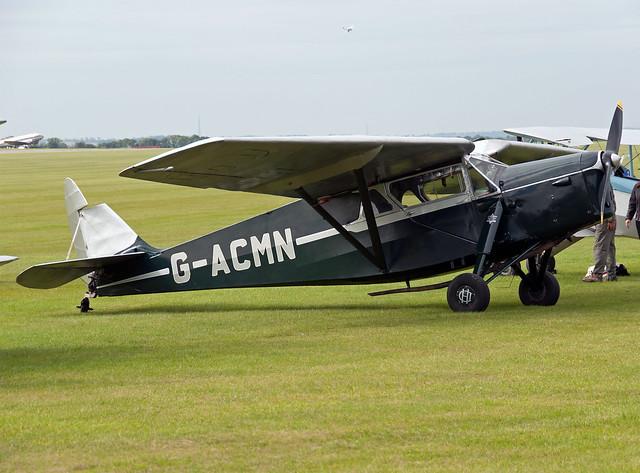 G-ACMN DH.85 Leopard Moth