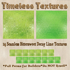 TT 14 Seamless Bittersweet Decay Lime Timeless Textures