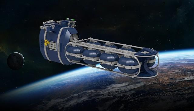 Interstellar Mezcal Tanker