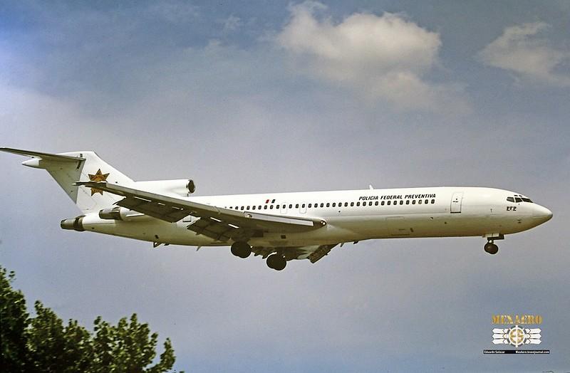 Policía Federal Preventiva / Boeing 727-264(Adv) / XC-MPF