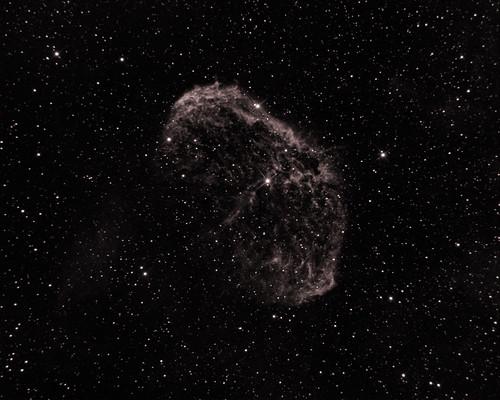 NGC 6888 Crescent Nebula in Ha