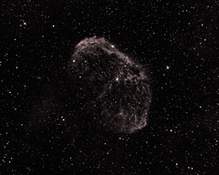 NGC 6888 Crescent Nebula in Ha