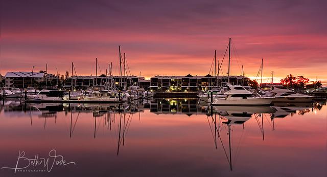 Sunrise in Pink