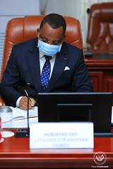PresidenceRDC_Emissaire du président Sassou Nguesso, Jean-Claude Ngakosso