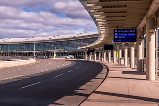 Pearson Terminal 3 @ 11AM During COVID-19