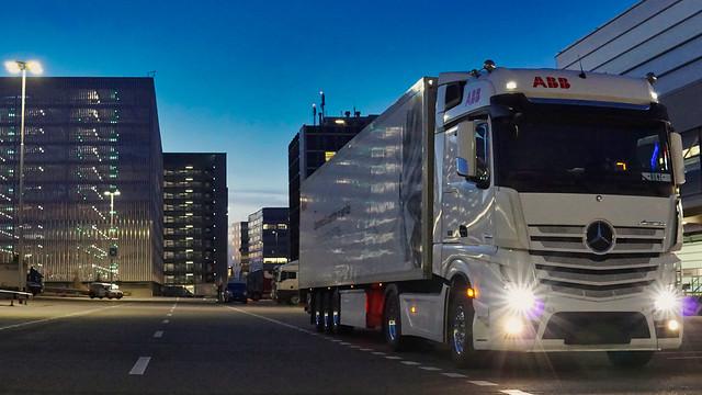 My Truck @ Airport Zurich