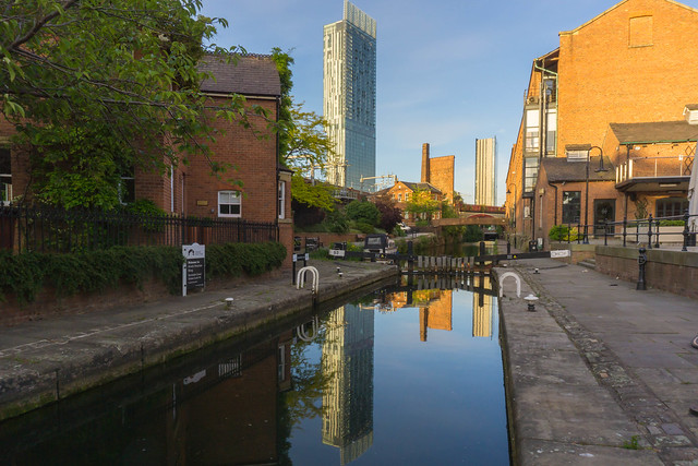 The Lock Keepers Cottage and the Skyscraper